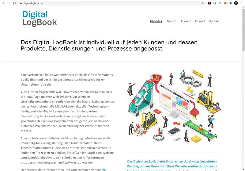Projekt Digital Logbook